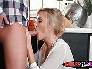 Blake Morgan Teaches Her Stepdaughter How To Properly Fuck
