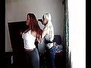 Lesbian Robs Christina