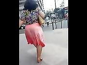 Mega Jiggle Pink Skirt
