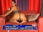 ass ,  babe,  latina,  panties,  phone,  pink,  sex ,  thong