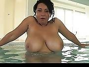 Donna Ambrose Aka Danica Collins Jacuzzi Fun