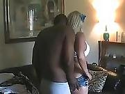 Thick Blonde Wife With Black Lover