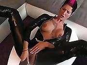 catsuit,  german,  masturbation,  toys