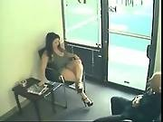 Couple Filmed By A Security Cam In A Waiting Room Www.xhardvideos.com Public Sex