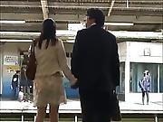 Japanese Women Groped On Train