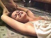 Brazilian Girl Forced By Couple