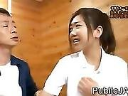 18yo,  Asian,  Japanese,  Petite,  Public,  School,  Teacher,  Teasing,  Teen,  Tennis