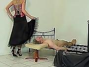Petticoat Dresses Sitting 4