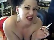 Mature Mina Smoking Fetish