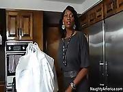 black,  hot mom,  mom ,  sex
