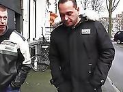 Dicksucking Amsterdam Hooker Jizzed On