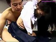 asian,  basement,  cream,  creampie,  fucking,  hairy,  hairypussy,  japanese,  pussy,  school,  student,  sucking,  uniform,  young