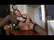 College Girl Melodii Naughty In Nylons