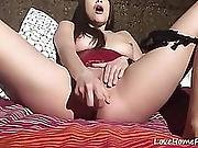 Cute Amateur Teen Loves To Masturbate Using A Sex Toy