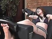 bondage,  feet,  foot,  tickling,  tied