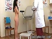 Cute Pussy Fucked By Her Gynecologist
