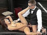 Tyler Steel Drills Tiffany Rains Hot Pussy