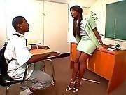 ass ,  big ass,  black,  booty,  classroom,  dick,  fat ,  hat ,  milf,  teacher