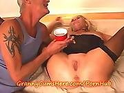 banging,  blowjob,  cumshot,  dirty,  facial,  fucking,  granny,  lingerie,  mature,  old ,  orgasm,  shaved,  swallow,  swingers,  throat fuck,  trailer,  young