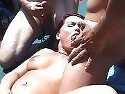 american,  anal,  banging,  cumshot,  dp ,  european,  german,  hardcore,  outdoor