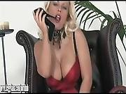Horny Blonde Milf Lana Cox Fucks Her Hungry Wet Pussy With Sexy High Heel