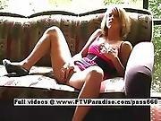 Jolene Spiritual Lusty Blonde Girl Fingering