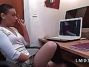 Libertine Coquine Sodomisee Dans La Maison Du Sexe