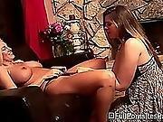 Granny Slut Shows Young Bitch