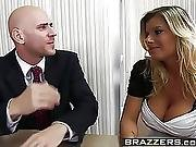 Big Tits At Work Downsizing Scene Starring Kristal Summers