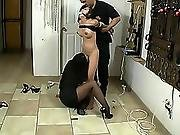 asian,  bdsm,  bondage,  domination,  drool,  gagged,  heels,  lesbian,  panties,  pantyhose,  submissive