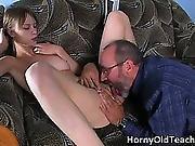 Nasty Brunette Hoe Gets Her Tight