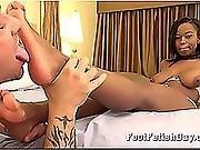 Ebony Teen Has Sexy Feet