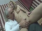 Slutty Teen Is Riding An Old Fuckers Dick Hardcore