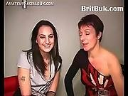 Two British Women Offer Their Faces As Canvas For Cum Painting