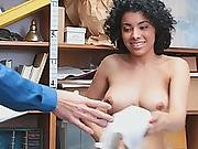 Smoking Hot Latina Teen Giving Her Pussy In