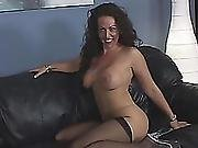 Cougar Gives Titjob And Gets Banged By Black Rod
