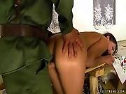 Soldier Fucking Sexy Girl