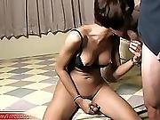 Teen Ladyboy Deepthroats And Gets Tight Anal Pounded Deep