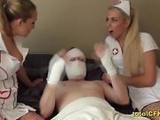 Nurses Molest Their Brutal Patient -