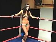 catfight,  nude,  topless,  wrestling