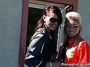 Nasty Hot Lesbians Go Crazy Rubbing