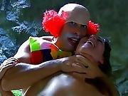 babe,  blowjob,  bondage,  chained,  choking,  clown,  cowgirl,  fucking,  spanish