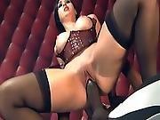 anal,  angel,  ass ,  babe,  big ass,  brunette,  dick,  hardcore,  hugecock,  interracial,  threesome