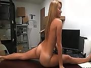 Real Petite Blonde Licked Fingered