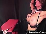 Caged Cougar Deauxma Punished By Femdom Louise Jenson