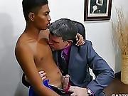 Hawt Dad And Oriental Guy Josh Flip Fuck