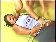 Brazilian Slave Forced To Swallow Farts
