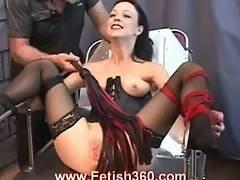 bdsm,  bondage,  brunette,  fetish,  pussy,  slave,  toys,  whip