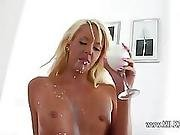 Huuuge Cock In Her Tight Ass Hole