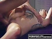 Pornfidelity Arya Fae Uses Her Acrobatic Skills On Cock For Creampie